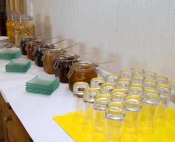 Buffet petit-déjeuner de l'hôtel