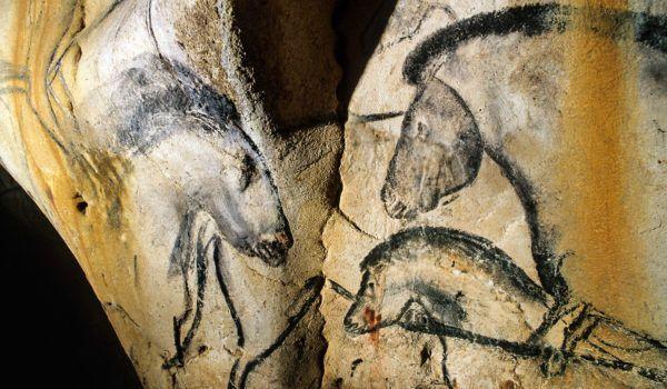 L'alcove aux lions © Fritz-Tosello Centre national de la préhistoire